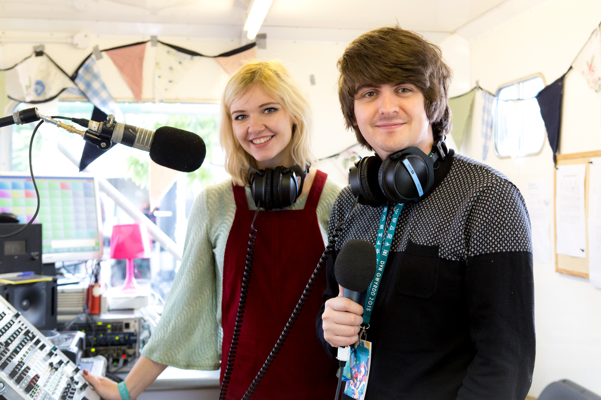Green Man radio presenters