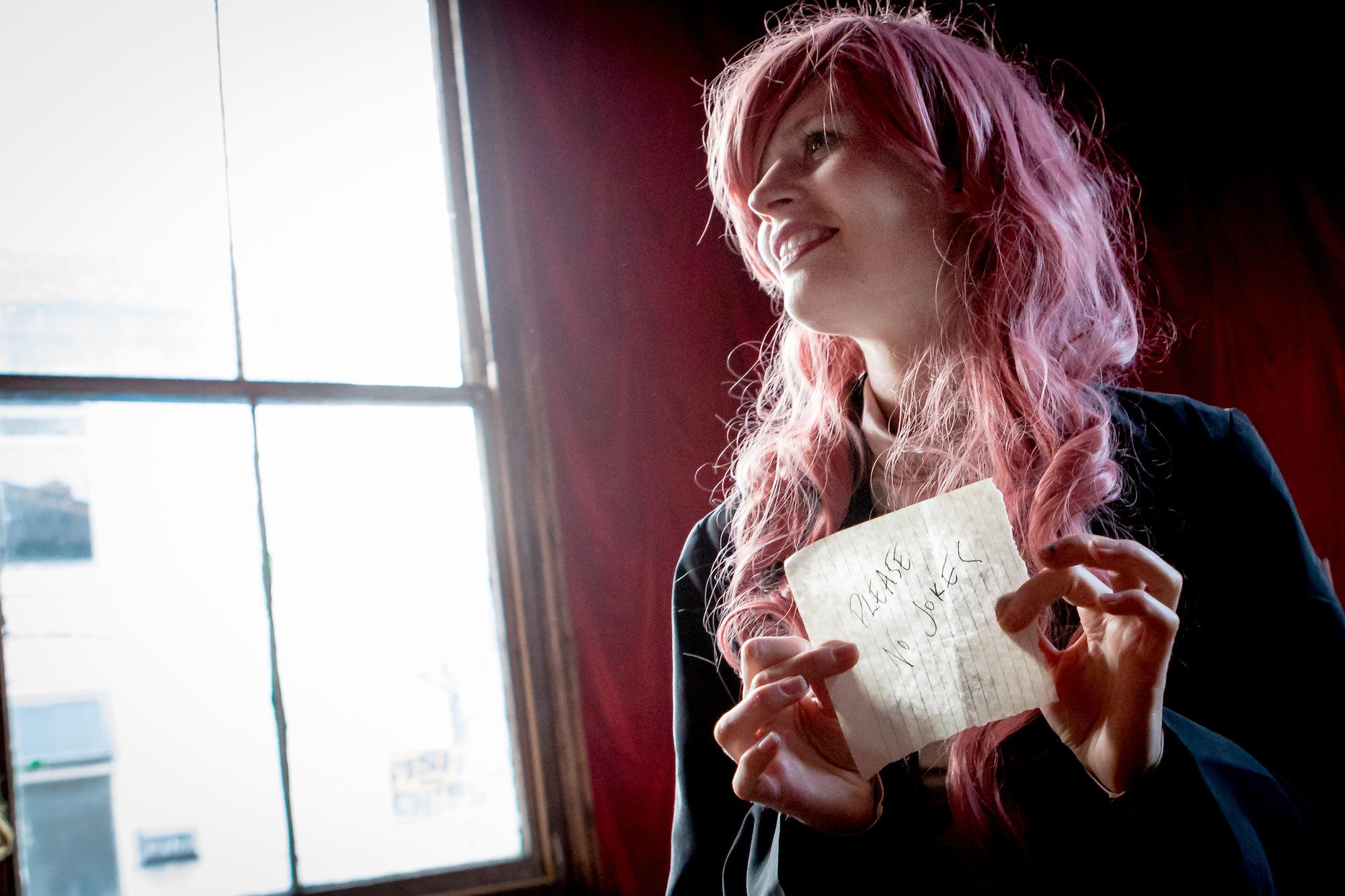 Jenny Hval, Gullivers Manchester, June 2015